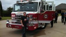 A fire truck!