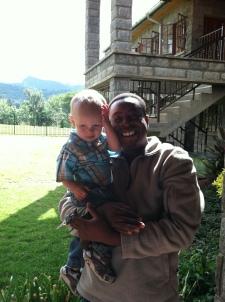 Uncle Bonface and Malakai.