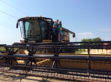 These combines were HUGE!