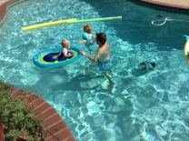 We love to swim!
