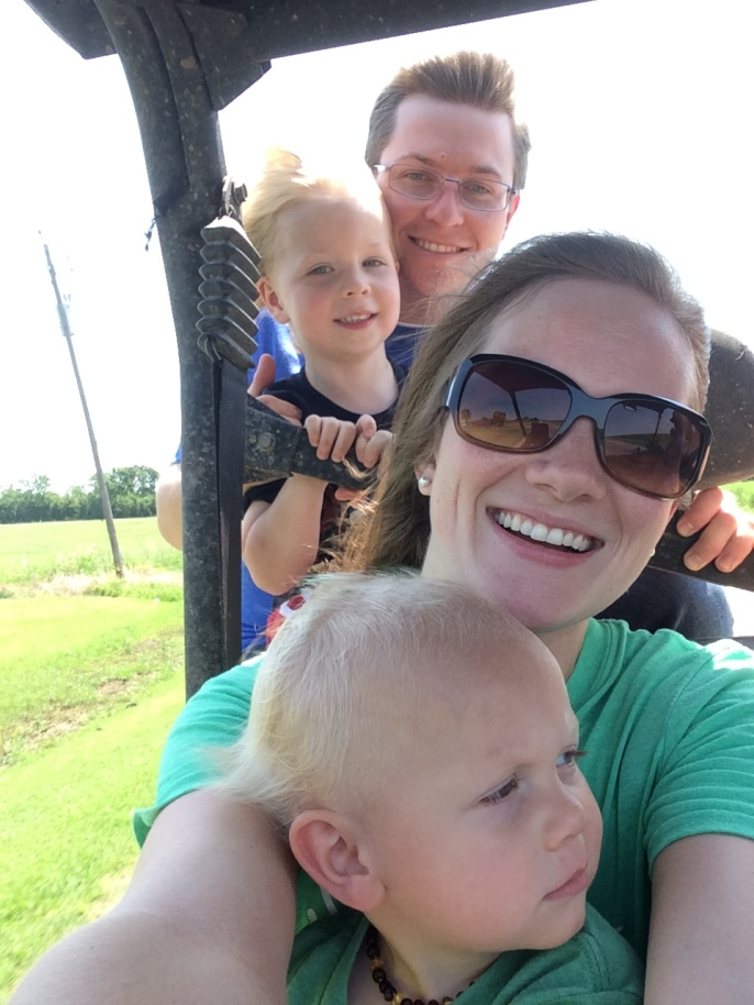 We had so much fun on the farm! Thanks Grant and Laci!